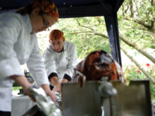 Hog Roast Wedding Caterers