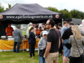 Outdoor event catering in Norfolk